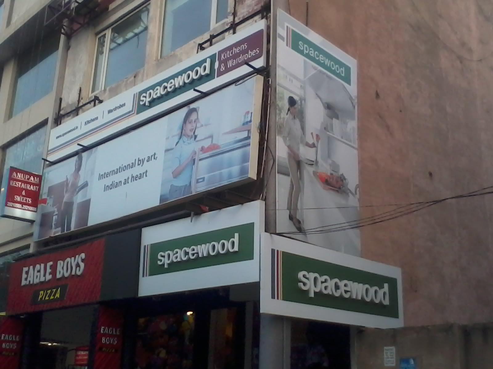 Spacewood Kitchen Store Delhi | Modular Kitchen Delhi