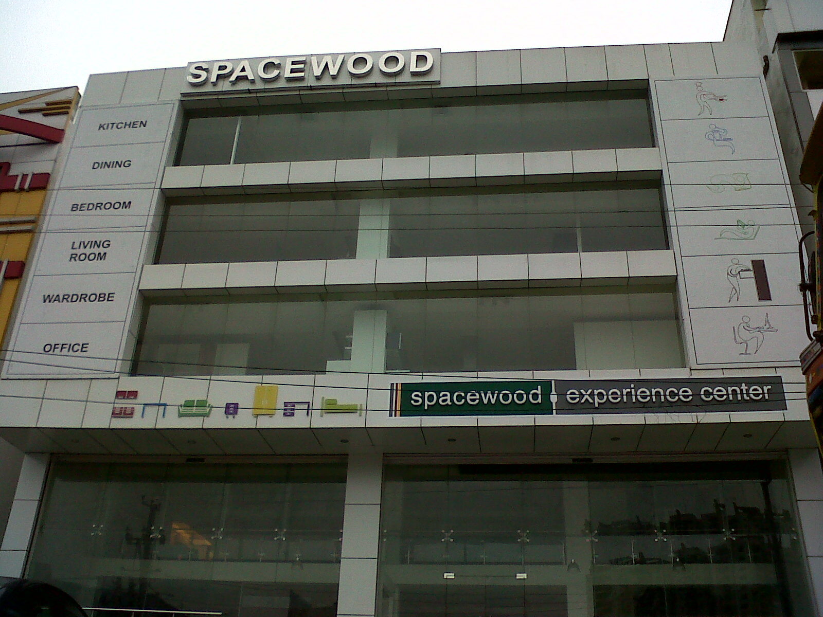 Spacewood kitchen store hyderabad modular kitchen hyderabad for M kitchen hyderabad