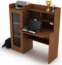 Spacewood Products Home Furniture Essentials Studytables